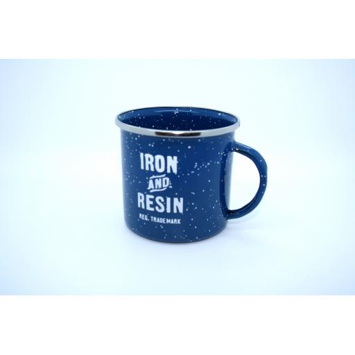 IRON & RESIN ENAMEL MUG
