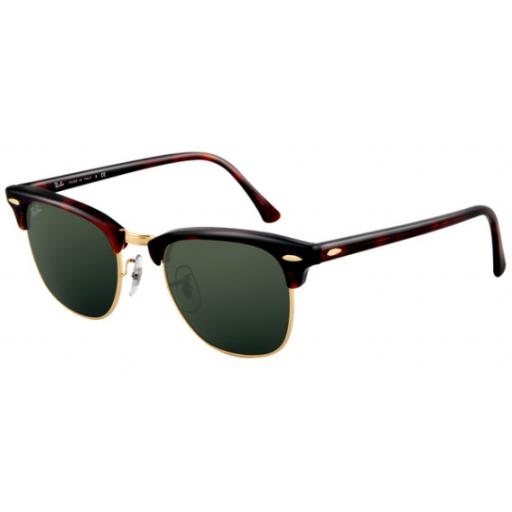 Ray-Ban Clubmaster Tortoise RB3016