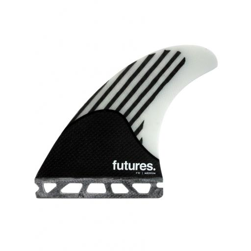 Futures FireWire FW2 thruster carbon fins