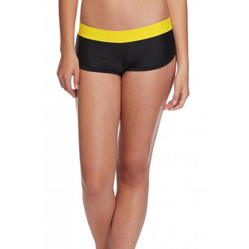 BOMBSHELL SIDEKICK SWIM SHORT - BLACK