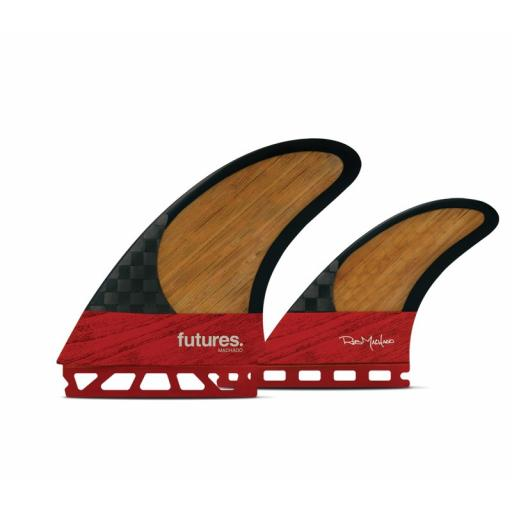 Futures Rob Machado twin +1 fin set