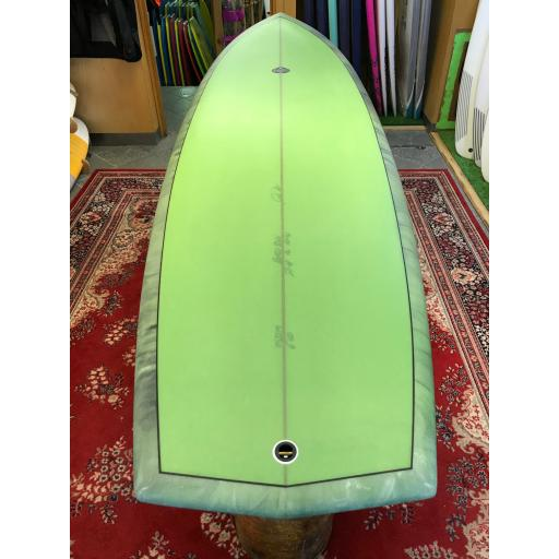 Josh Hall Surfboards FISH SIMMONS QUAD DIAMOND TAIL