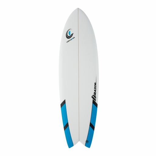 "Circle One 6'6"" Razor Fish Matte Finish"