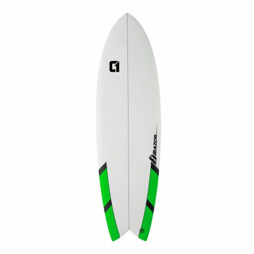 "Circle One 6'3"" Razor Fish Matte Finish"