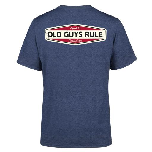 Old Guys Rule Aged To Perfection T-shirt Heather