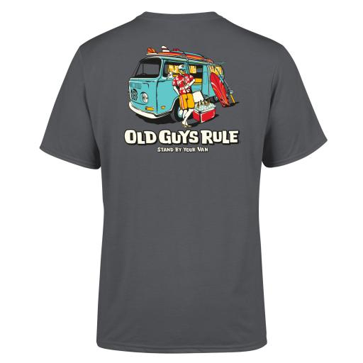 Old Guys Rule Stand By Your Van 11 T-shirt