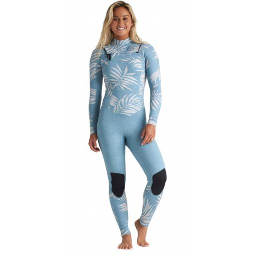 Billabong Salty Dayz 4-3 chest zip women wetsuit