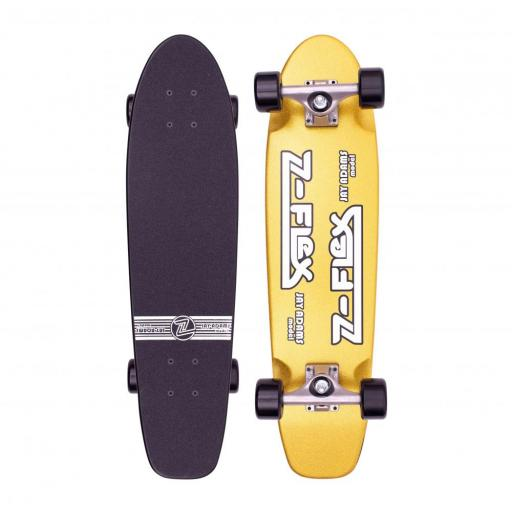 "Z Flex Jay Adams Metal Flake Gold 29"" Cruiser"