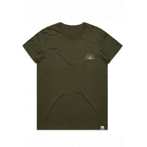 Sunrise Women's T-Shirt Army