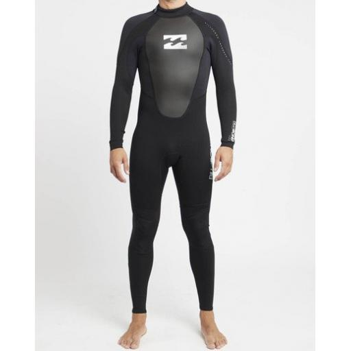 Billabong Intruder 403 GBS back zip wetsuit