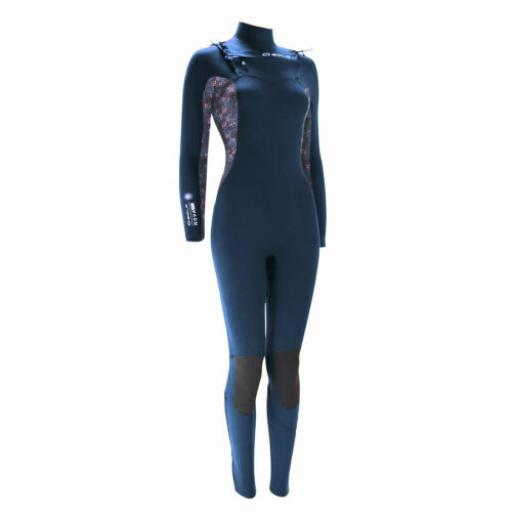 Sola Nova Ladies chest zip 5-4 wetsuit